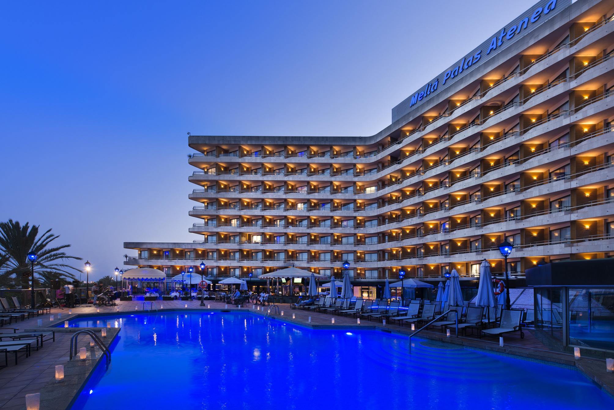 Melia Palas Atenea  Sterne Hotel  Palma De Mallorca